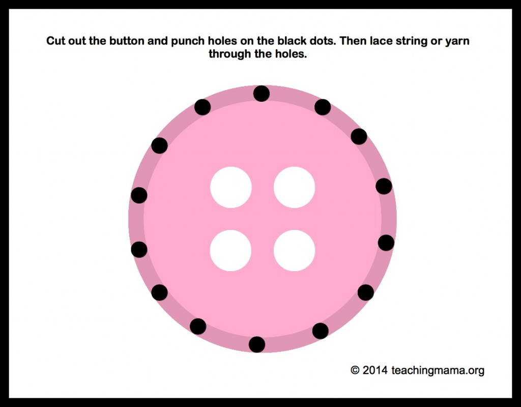 Lacing a Button