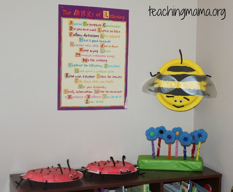 Bee and Ladybug Craft