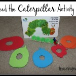 Feed the Caterpillar Activity + Life Cycle Activities
