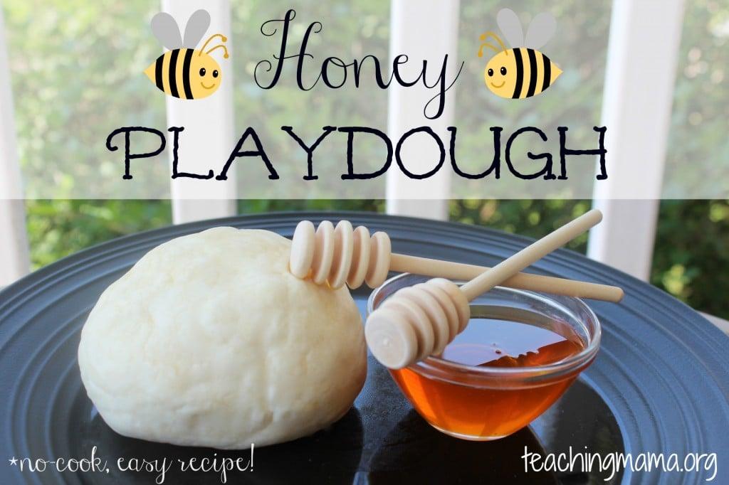 Honey Playdough