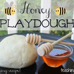 Honey Playdough