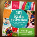 101 Kids Activities Book Review & Bouncing Balloons Activity