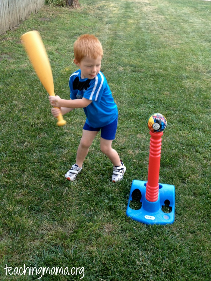 Gross motor skill: striking