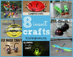 8 Insect Crafts