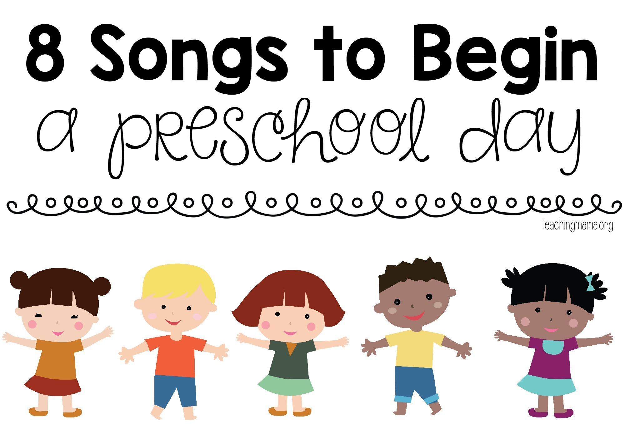 graphic about Make New Friends Song Printable named 8 Tunes toward Start a Preschool Working day