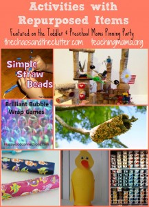 Activities with Repurposed Items