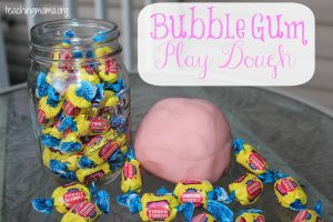 Bubble Gum Play Dough