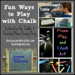 Fun Ways to Play with Chalk & Pinning Party #46