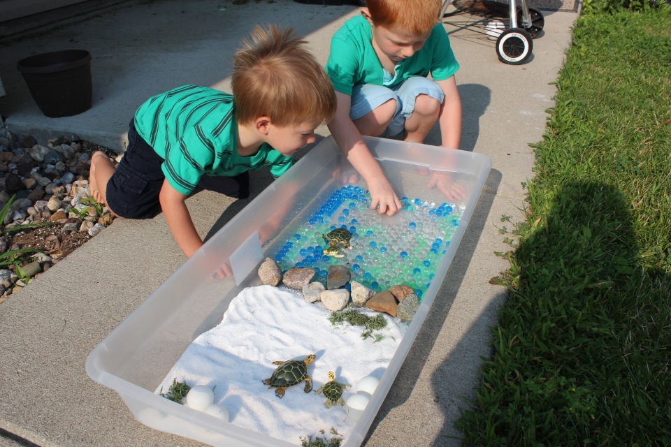 Sea Turtle Small World Play
