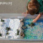 Sea Turtle Sensory Bin