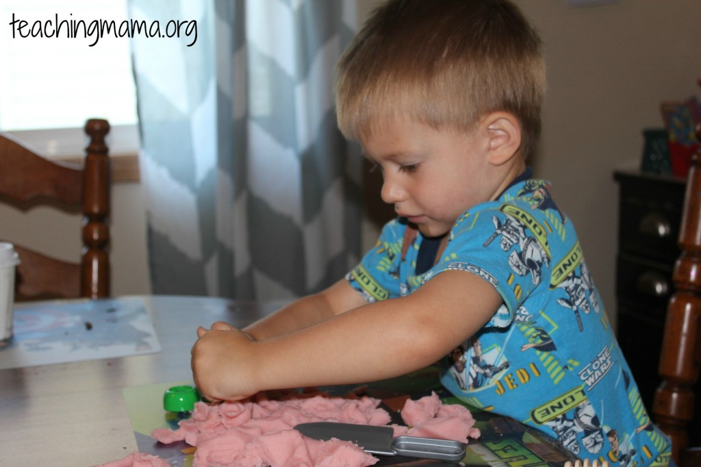 Play Dough Playing