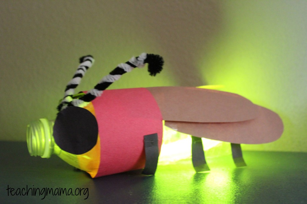 Glowing Firefly Craft