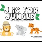 J is for Jungle — Letter J Printables