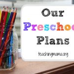 Our Preschool Plans for 2014