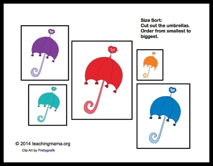 U is for Umbrellas