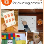 8 Free Printables for Counting Practice {Guest Post}