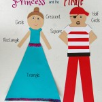 Learning Shapes with the Princess & the Pirate {Guest Post}