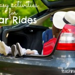 8 Easy Activities for Car Rides {Guest Post}