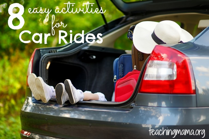 8 Easy Activities for Car Rides