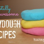 8 Totally Awesome Playdough Recipes