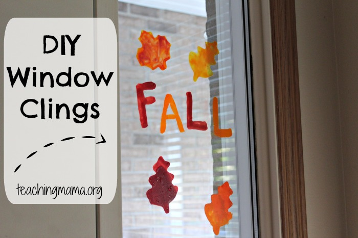 DIY Window Clings