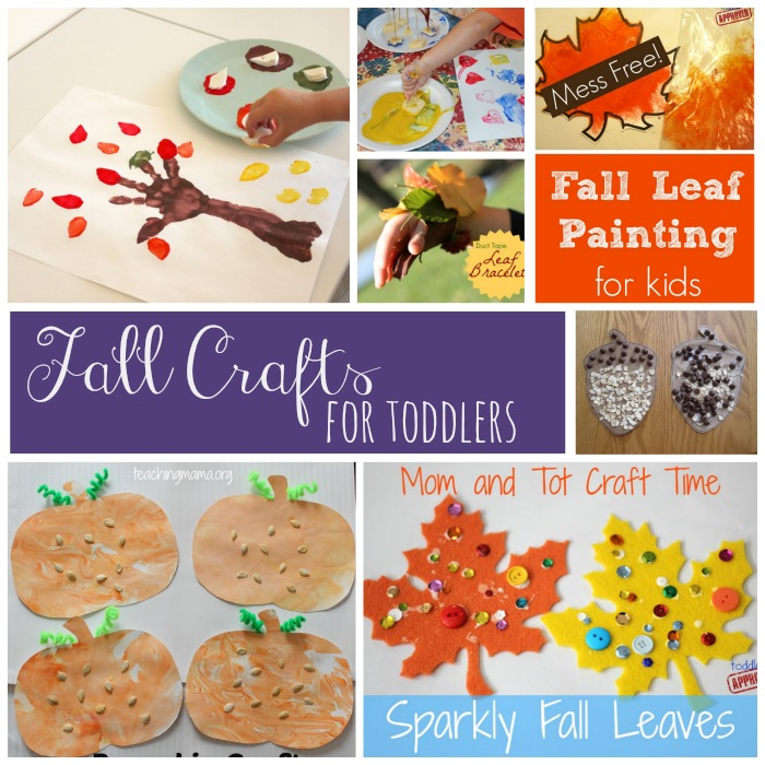 Fall Crafts for Toddlers
