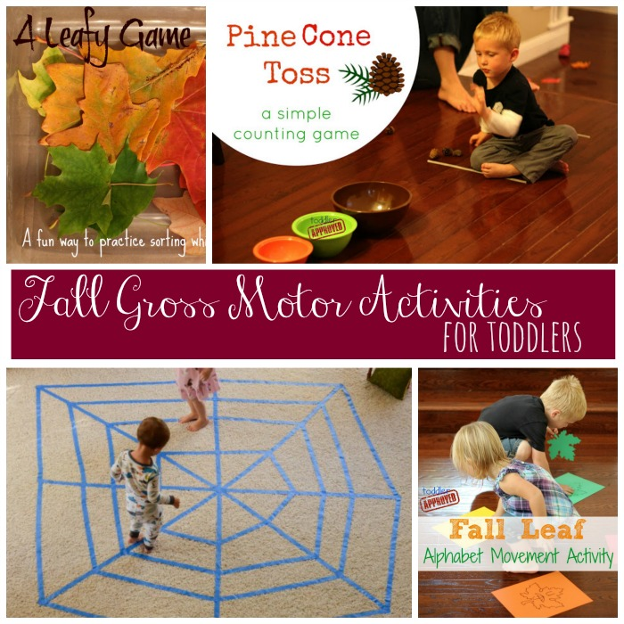 Fall Gross Motor Activities
