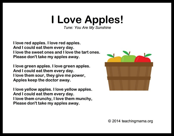 I Love Apples!