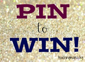 Pin to Win Giveaway!