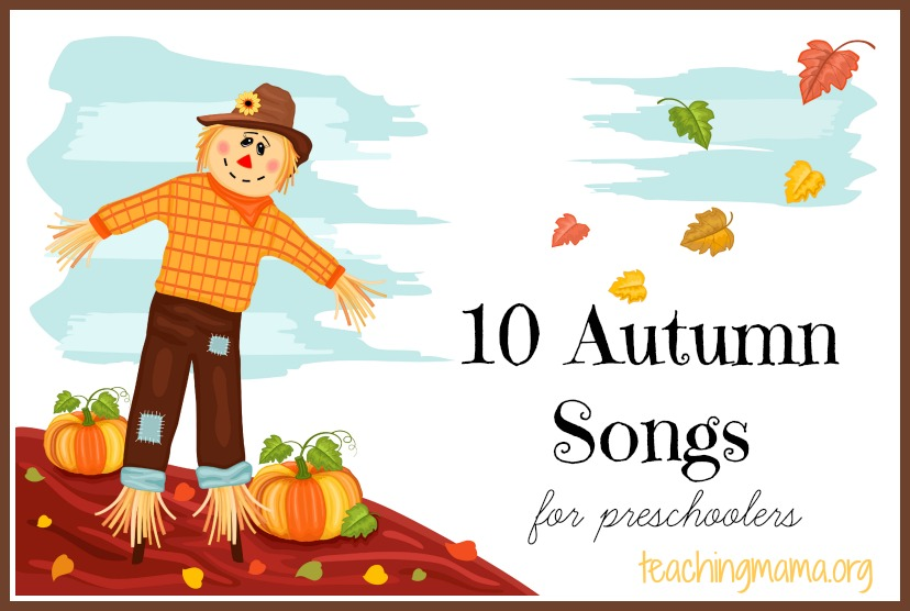 Autumn Songs for Preschoolers