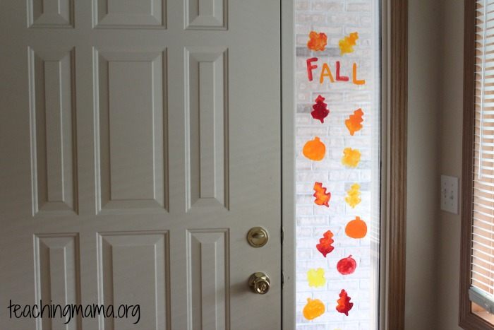 Window Clings for Fall