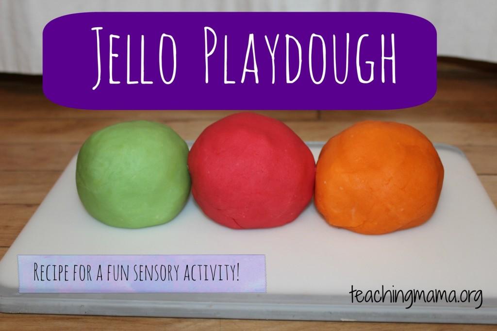 Jello Playdough