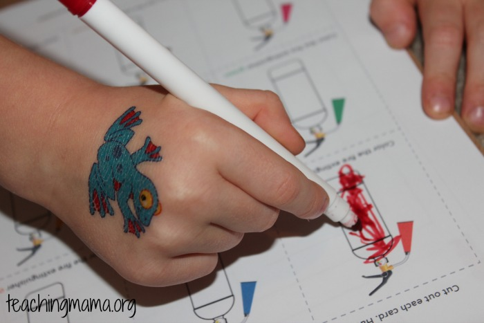 Coloring with Markers - Teaching Mama