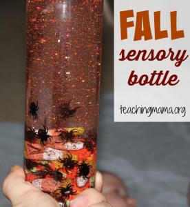 October Sensory Bottle