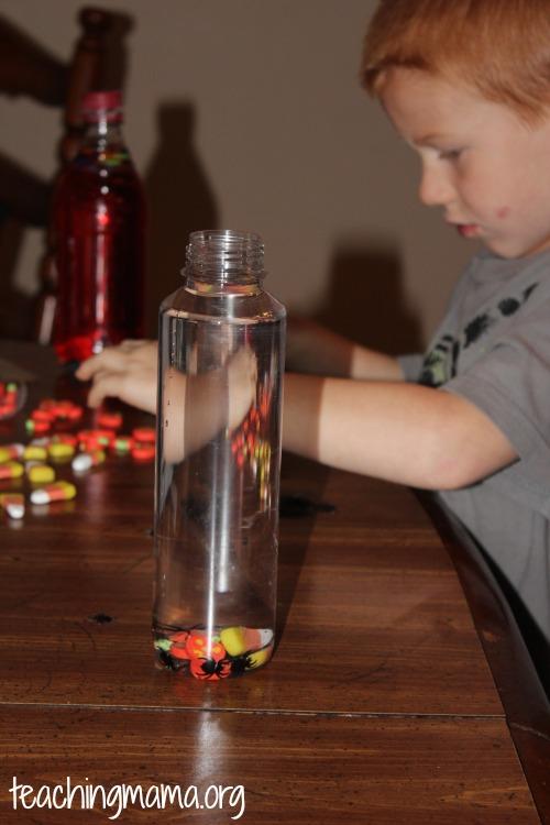 Filling the Bottle