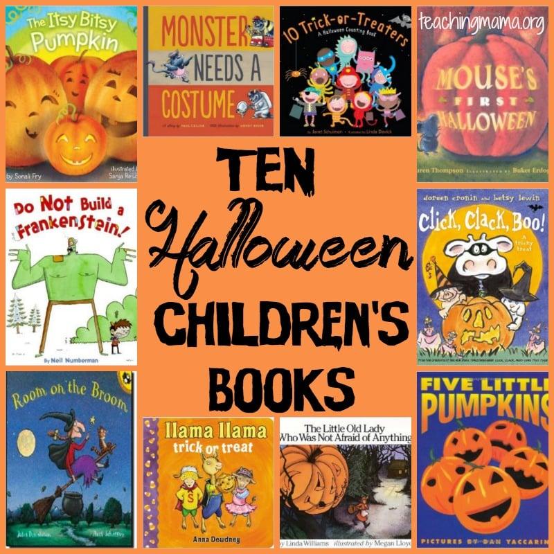 10 Halloween Children's Books
