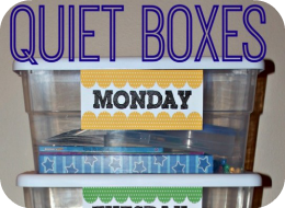 Quiet Box Activities