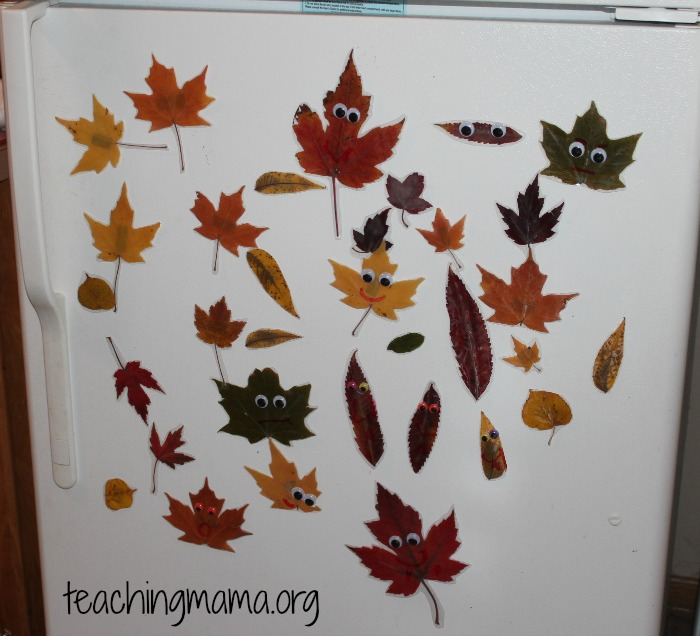 Refrigerator with Leaves