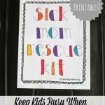 Sick Mom Rescue Kit
