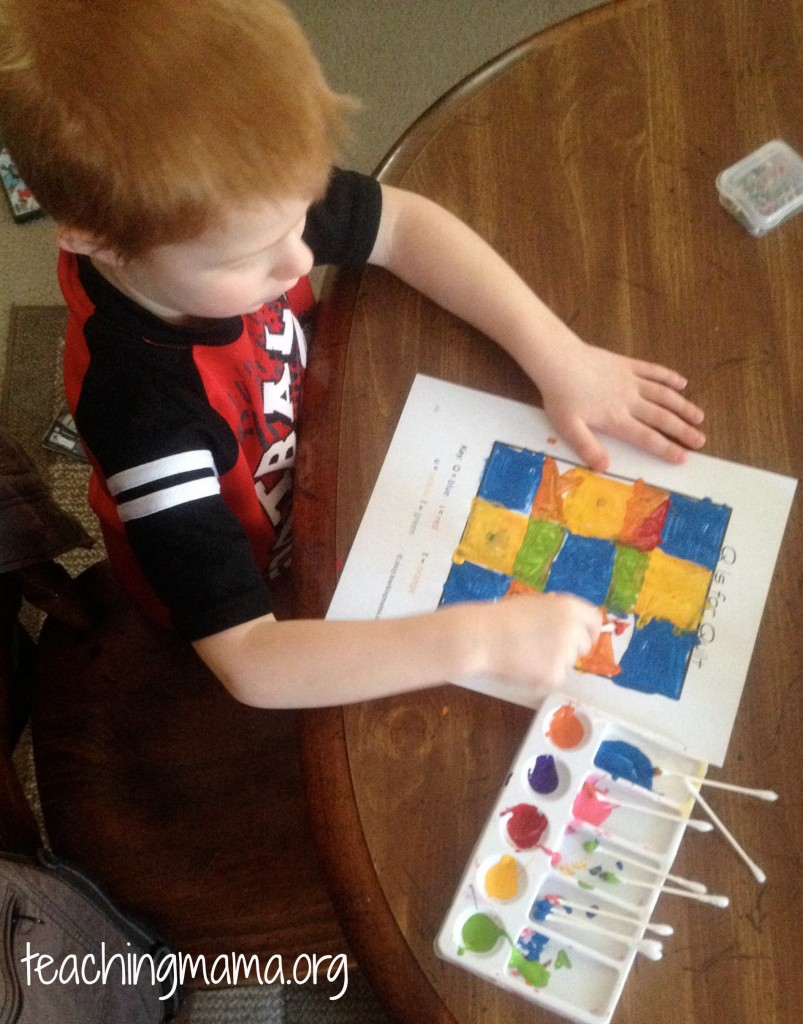 First Grade Painting & Drawing Activities