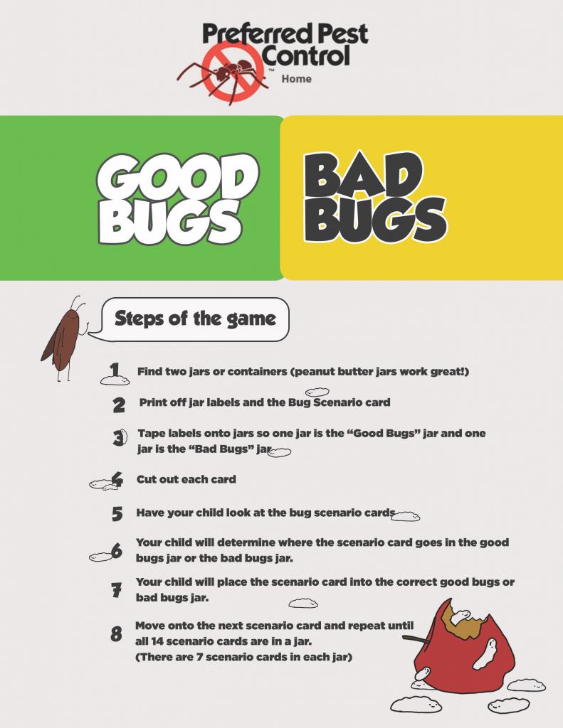 Good Bugs, Bad Bugs Game