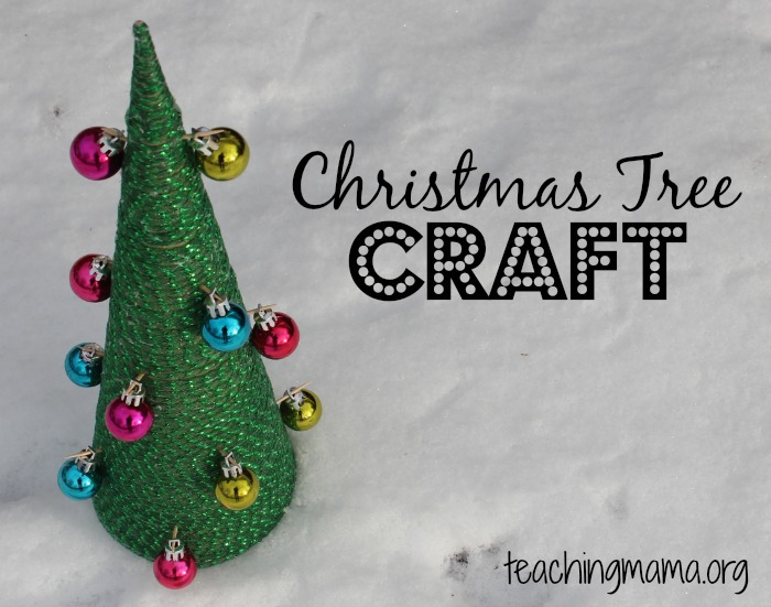 Christmas Tree Craft