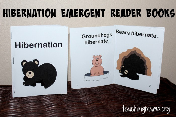 Hibernation Activities For Preschoolers Teaching Mama
