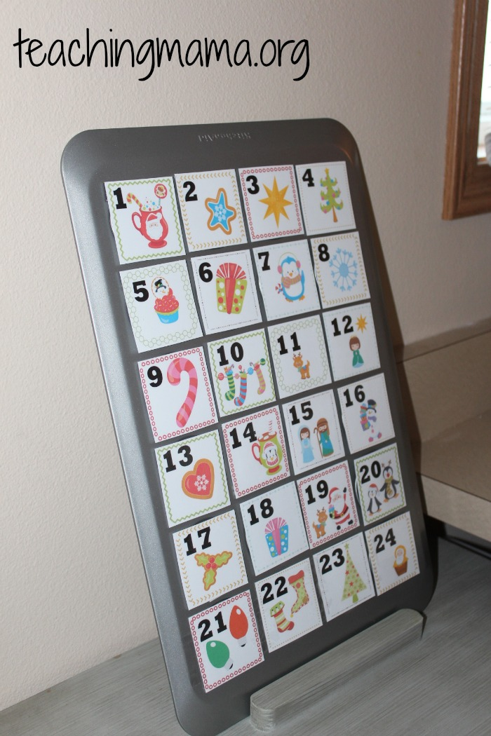 Advent Calendar Ideas What To Put In : Advent calendar for kids
