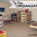 Toy Room Organization & Free Toy Bin Labels