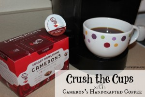 Crush the Cups and Get Free Cameron's Coffee!