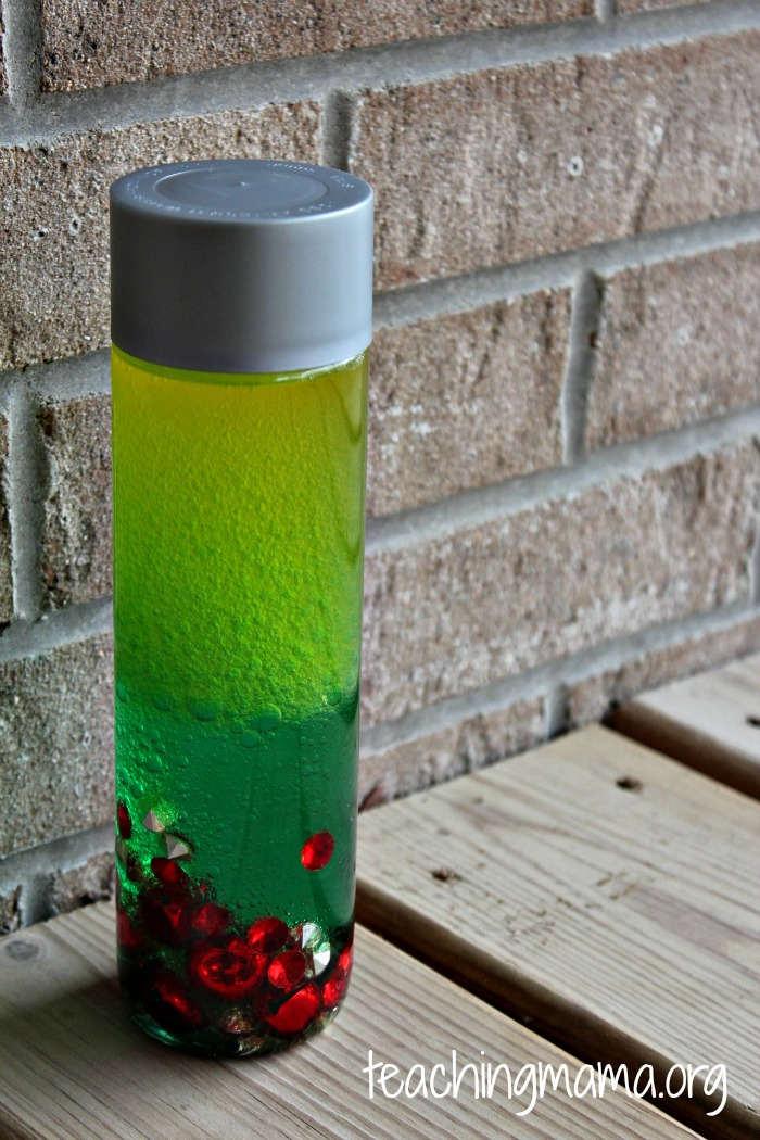 Christmas Sensory Bottle