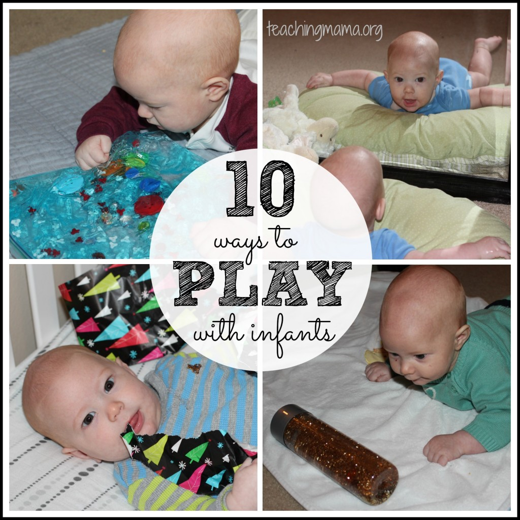 10 Ways to Play with Infants
