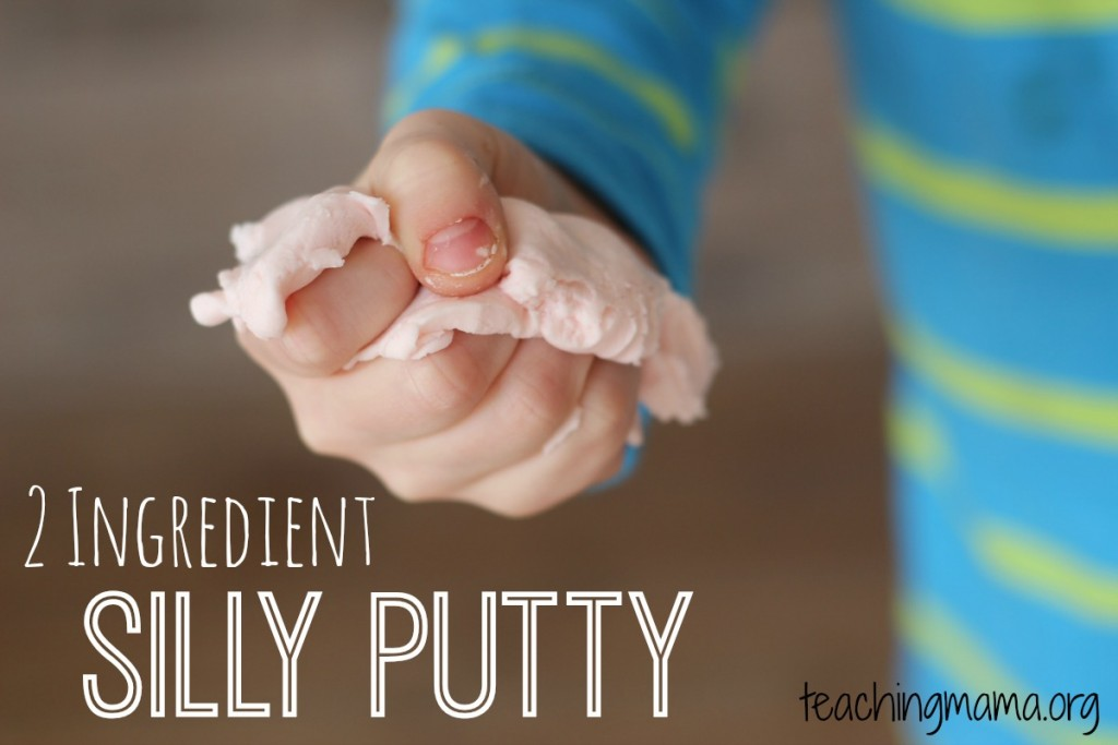 2 Ingredient Silly Putty