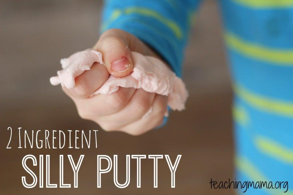 2 Ingredient Silly Putty